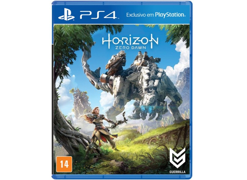 Jogo Horizon Zero Dawn PS4 Sony