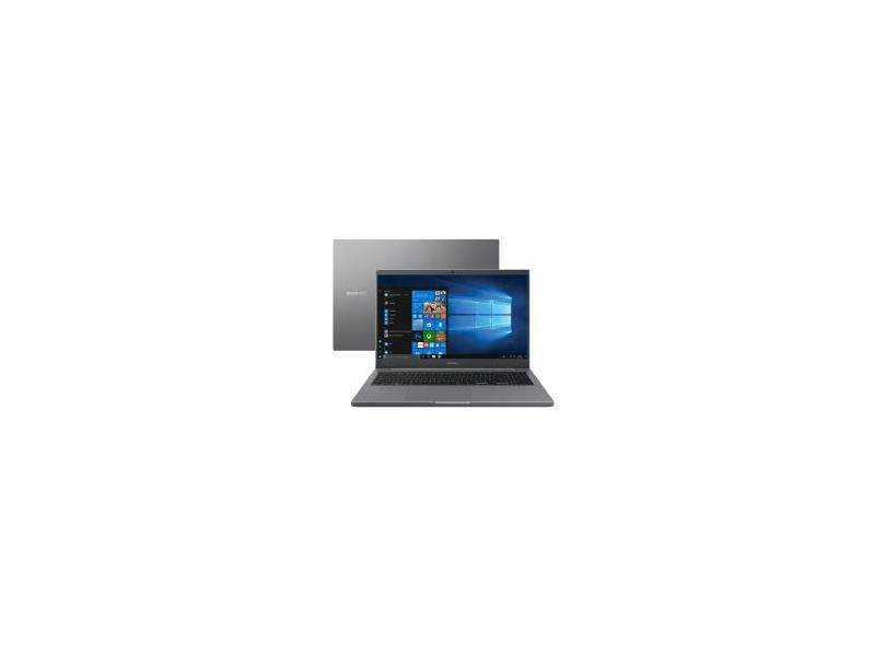 "Notebook Samsung Book Intel Celeron 6305 4GB de RAM HD 500 GB 15,6"" Full HD Windows 10 NP550XDA-KO1BR"