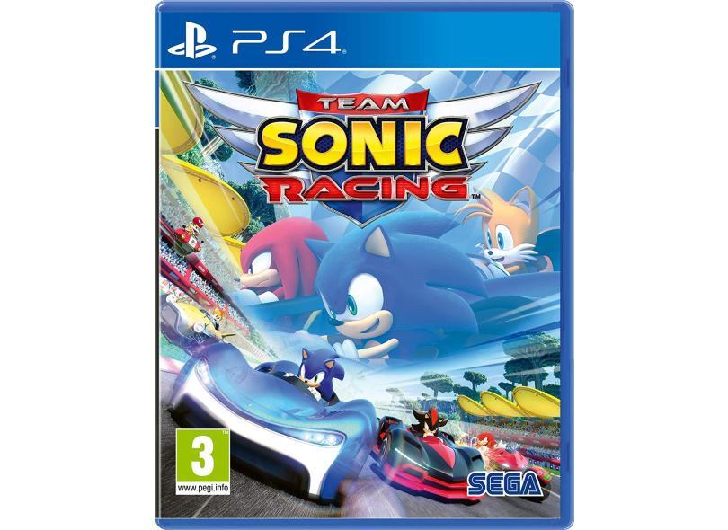 Jogo Team Sonic Racing PS4 Sega
