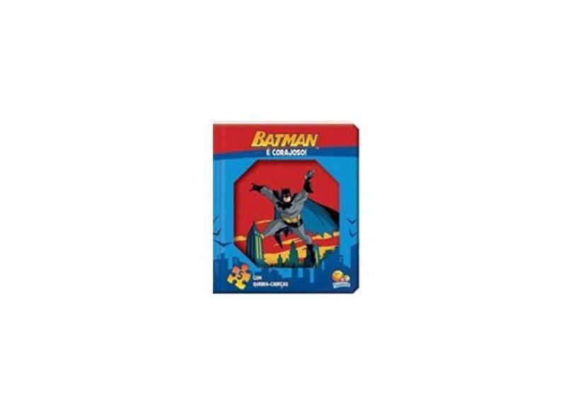 Janelinha lenticular - Meus heróis em quebra-cabeças: Batman é corajoso! - Warner Bros. Consumer Products Inc. - 9788537639627