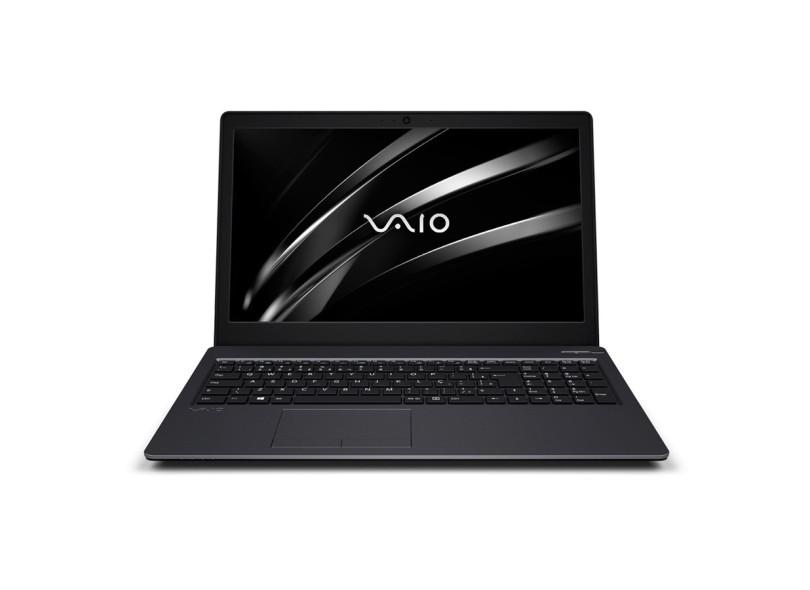 """Notebook Vaio Fit 15S Intel Core i3 6006U 6ª Geração 4GB de RAM HD 1 TB 15,6"""" Windows 10 VJF154F11X-B0711B"""