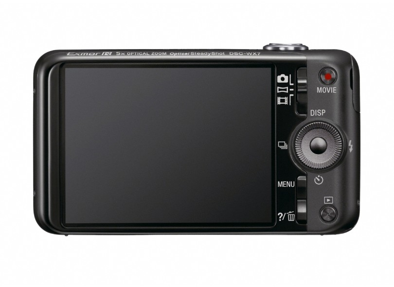 Câmera Digital Sony Cyber-Shot 16,2 MP Full HD DSC-WX7