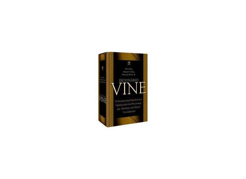 Dicionário Vine - Vários Autores - 9788578606107