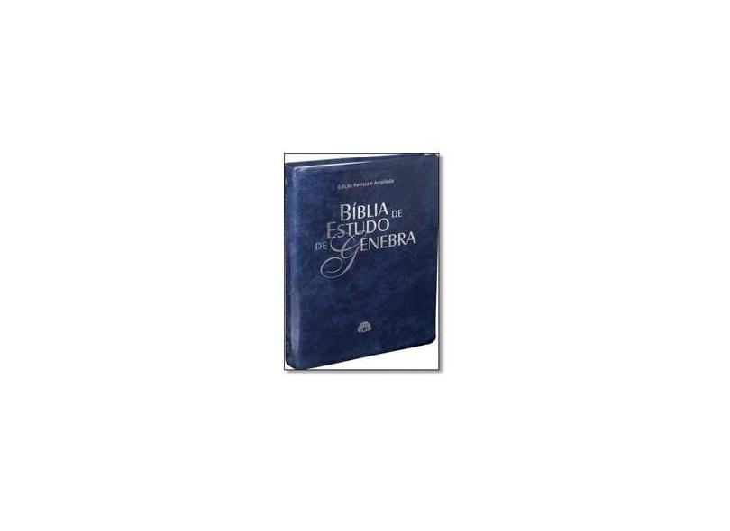 Bíblia de Estudo de Genebra - Sbb - Sociedade Biblica Do Brasil - 7898521808587