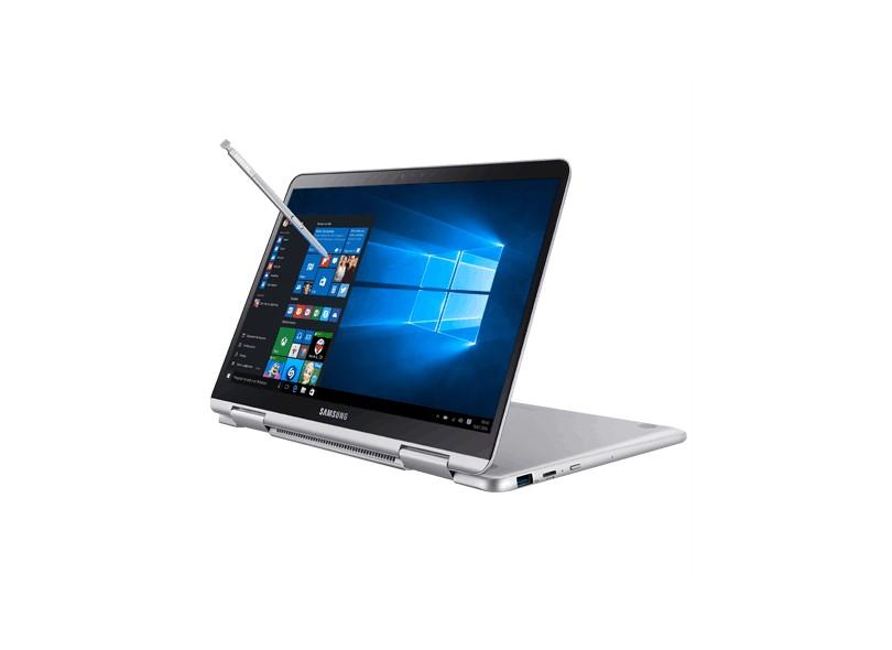 """Notebook Conversível Samsung Style Intel Core i7 8550U 8ª Geração 8 GB de RAM 256.0 GB 13.3 """" Touchscreen Windows 10 NP930QAA"""