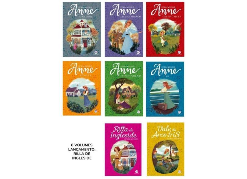 Coleção Anne com 8 Volumes - Edição Especial - Montgomery, Lucy Maud - 9788900001129