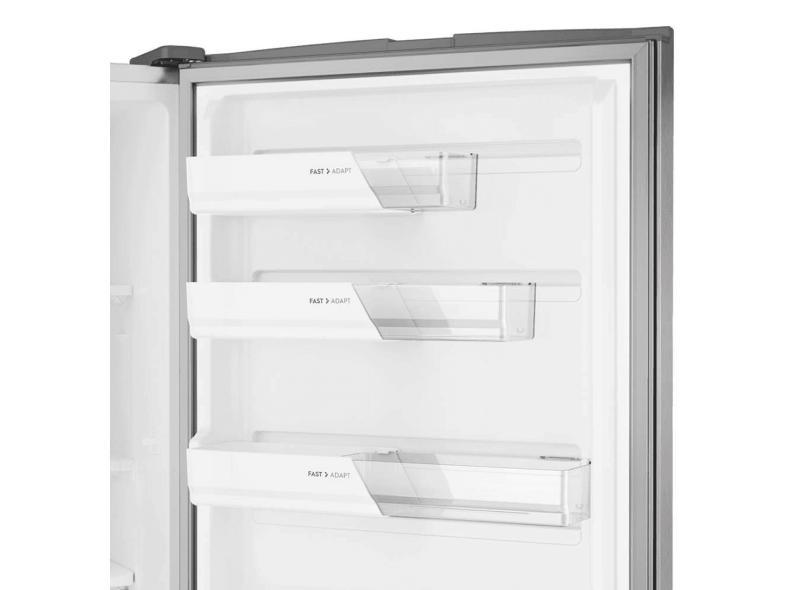 Geladeira Electrolux Bottom Freezer Frost Free Inverse 454 Litros Inox IB53X