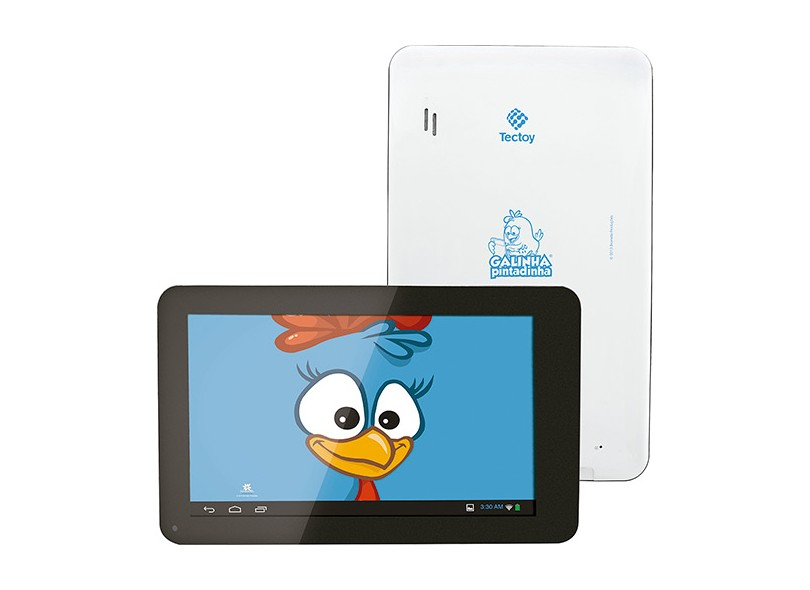 Tablet Tectoy 4 GB Wi-Fi Android 4.1 (Jelly Bean) TT-1715