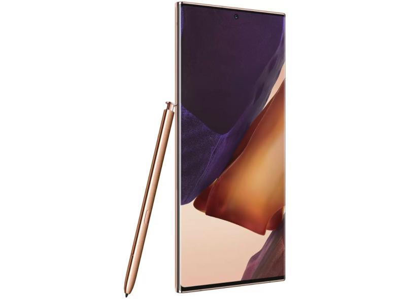 Smartphone Samsung Galaxy Note 20 Ultra 5G 256GB Câmera Tripla Android 10