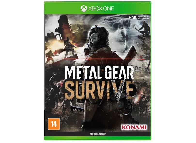Jogo Metal Gear Survive Xbox One Konami