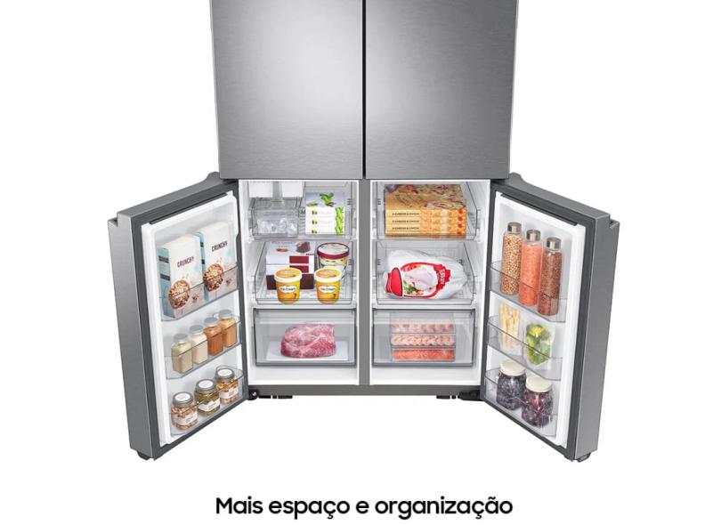 Geladeira Samsung Frost Free French Door Inverse 575 l Inox RF59A7011SR