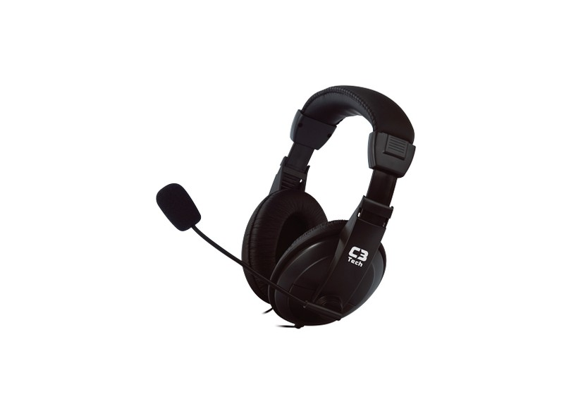 Headset com Microfone Controle de Volume do Microfone Voicer Confort MI-2260ARC C3 Tech