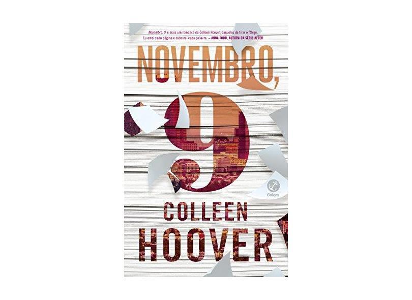 Novembro, 9 - Colleen Hoover - 9788501076250