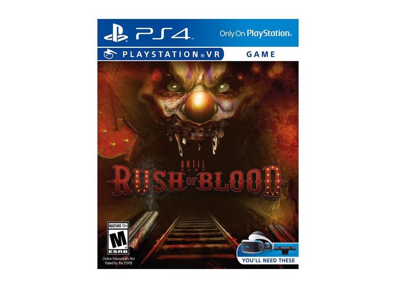 Jogo Until Dawn Rush Of Blood PS4 Sony