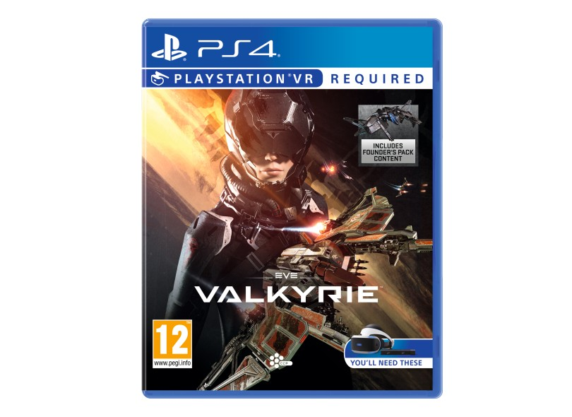 Jogo EVE Valkyrie PS4 CCP Games