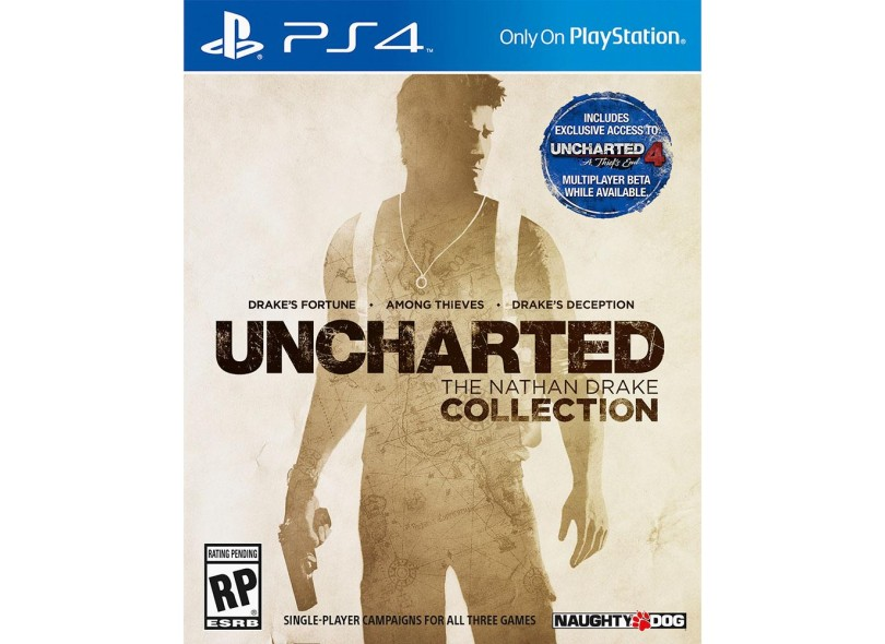 Jogo Uncharted PS4 Naughty Dog