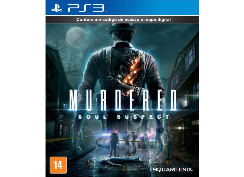 Jogo Murdered Soul Suspect PlayStation 3 Square Enix