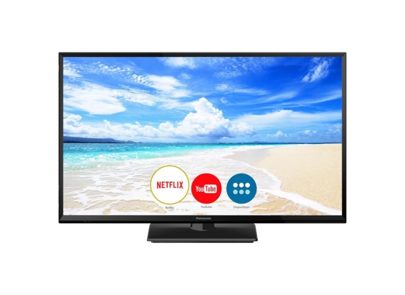 """Smart TV TV LED 32 """" Panasonic Netflix TC-32FS600B 2 HDMI"""