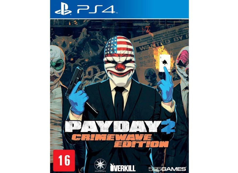 Jogo Payday 2 PS4 505 Games
