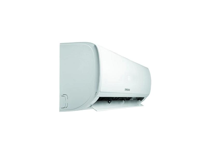 Ar-Condicionado Split Hi Wall Samsung Max Plus 12000 BTUs Controle Remoto Frio AR12TRHQCURNAZ / AR12TRHQCURXAZ