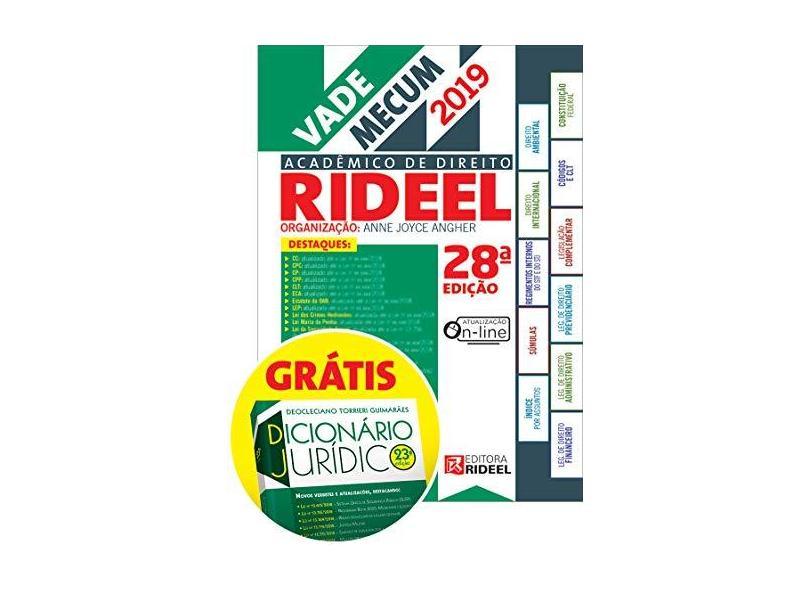 Vade Mecum Acadêmico de Direito Rideel 1º Semestre 2019 - Anne Joyce Angher - 9788533954441