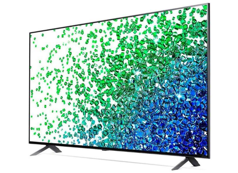 """Smart TV TV Nano Cristal 55 """" LG ThinQ AI 4K HDR 55NANO80SPA 4 HDMI"""