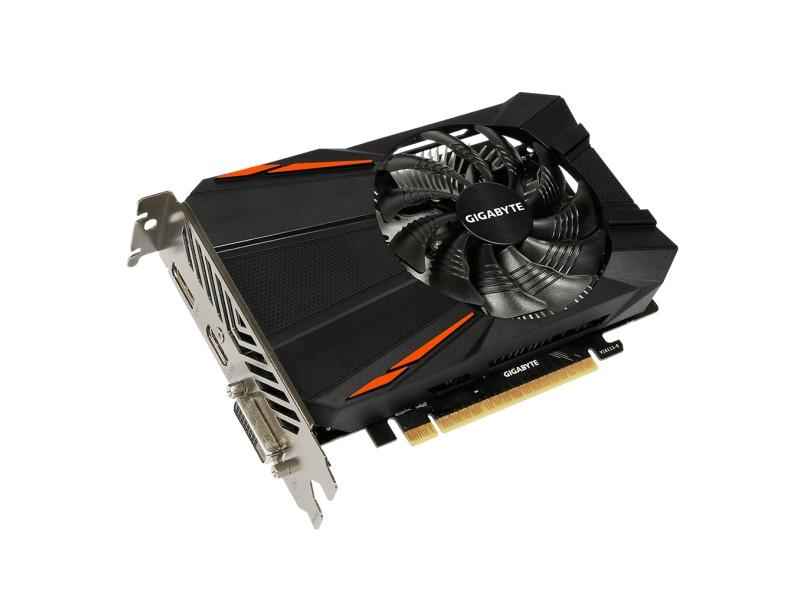 Placa de Video NVIDIA GeForce GTX 1050 Ti 4 GB GDDR5 128 Bits Gigabyte GV-N105TD5-4GD