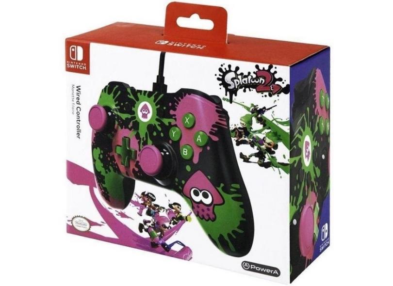 Controle Nintendo Switch Splatoon 2 - Power A
