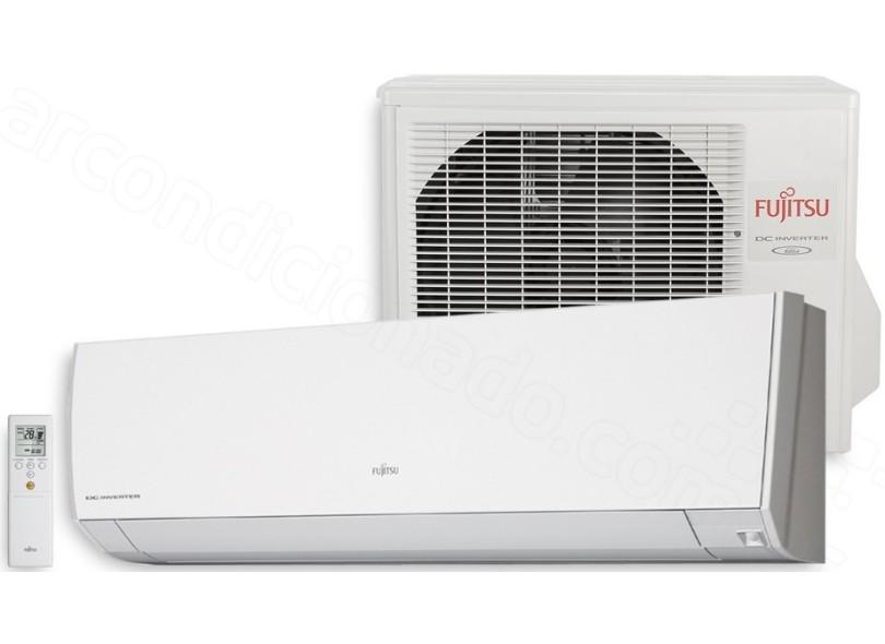 Ar Condicionado Split Hi Wall Fujitsu 12.000BTUs Inverter Frio ASBG12JMCA
