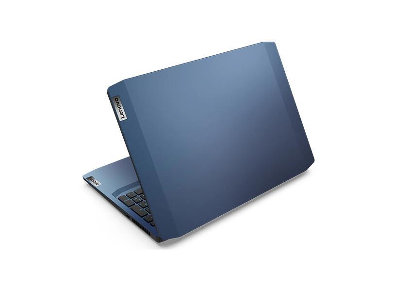 """Notebook Gamer Lenovo IdeaPad 3i Intel Core i7 10750H 10ª Geração 16 GB de RAM 512.0 GB 15.6 """" Full GeForce GTX 1650 Windows 10 Gaming 82CG0004BR"""