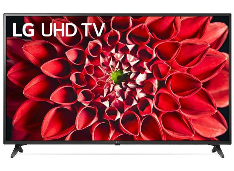 """Smart TV TV LED 55.0 """" LG ThinQ AI 4K HDR 55UN7100PSA 3 HDMI"""