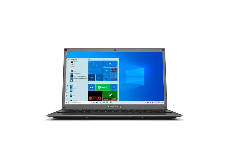 """Notebook Compaq Presario Intel Core i3 6157U 6ª Geração 4.0 GB de RAM 120.0 GB 14.1 """" Windows 10 430"""