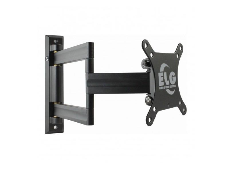 """Suporte para TV LCD/LED/Plasma Parede Articulado 15 a 32"""" Elg Vesa 200 EM02V2"""
