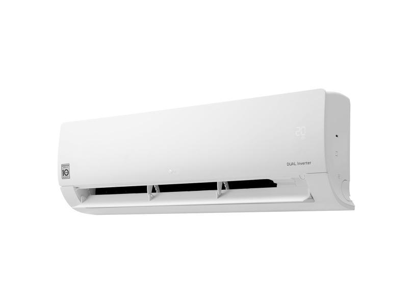 Ar Condicionado Split Hi Wall LG Dual Inverter 12000 BTUs Inverter Controle Remoto Frio S4-Q12JA3WF