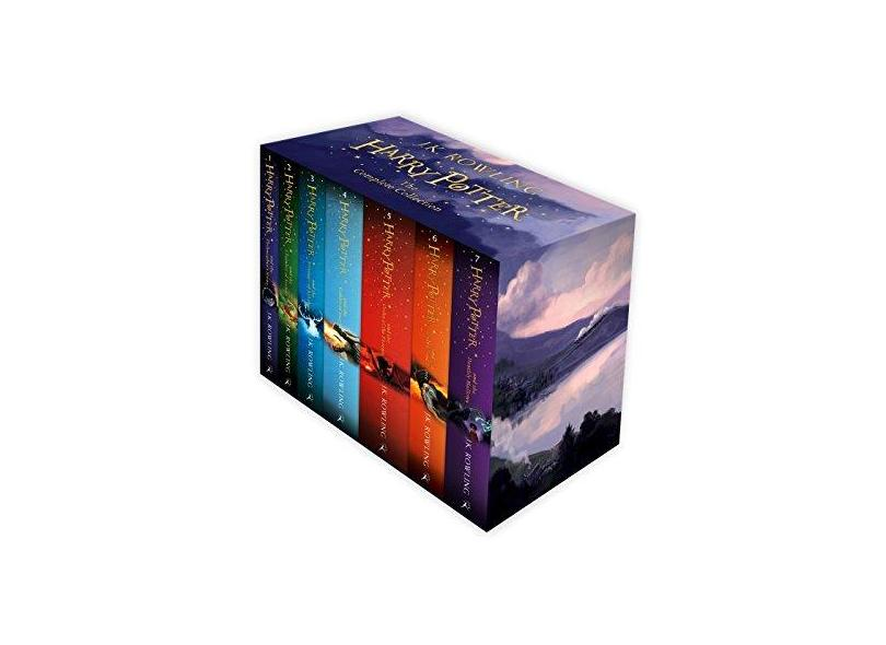 Harry Potter Box Set: The Complete Collection (Children's Paperback) - J.K. Rowling - 9781408856772