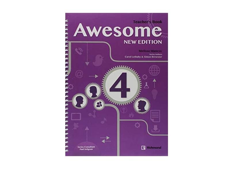 Awesome Update 4 - Teacher's Book - Richmond - 9786070609930