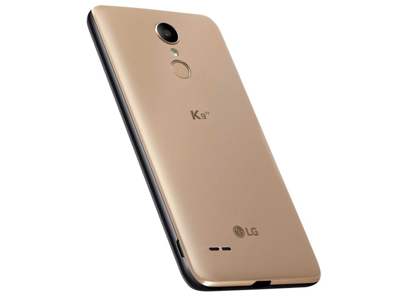 Smartphone LG K9 TV LMX210B 16GB 8,0 MP 2 Chips Android 7.0 (Nougat) 3G 4G Wi-Fi