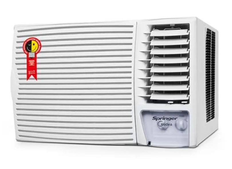 Ar Condicionado Janela / Parede Springer Midea 21000 BTUs Frio ZCI215BB