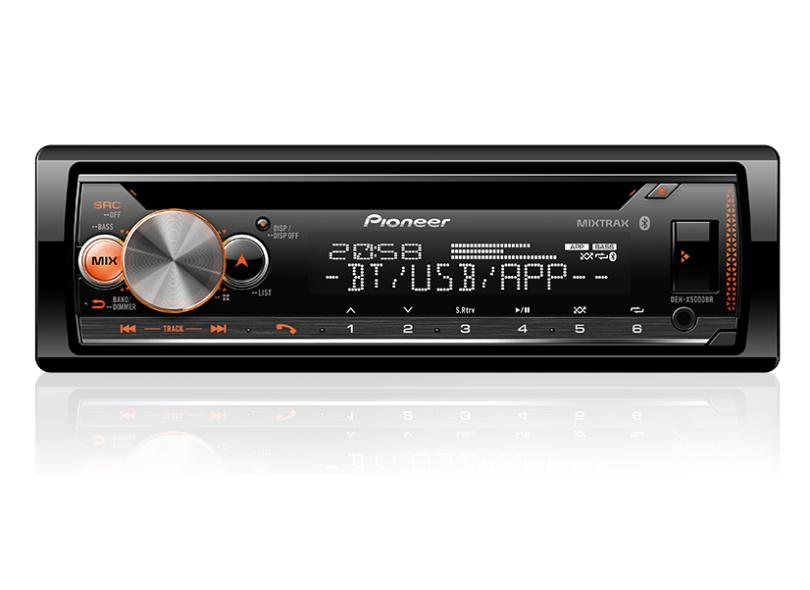 CD Player Automotivo Pioneer DEH-X5000BR