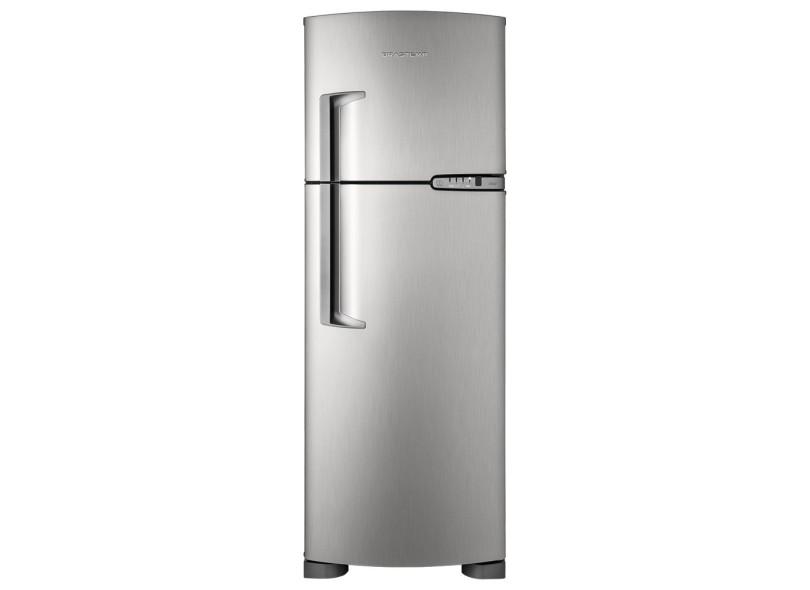 Geladeira Brastemp Clean Frost Free Duplex 352 Litros Inox BRM39ER