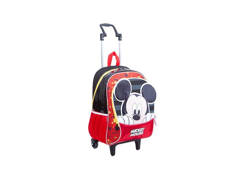 Mochila com Rodinhas Escolar Sestini Mickey Mickey 17Y G 64811