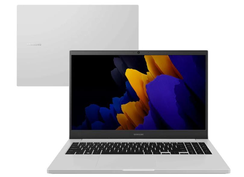 "Notebook Samsung Book Intel Celeron 6305 4.0 GB de RAM 500 GB 15.6 "" Full Windows 10 NP550XDA-KO2BR"