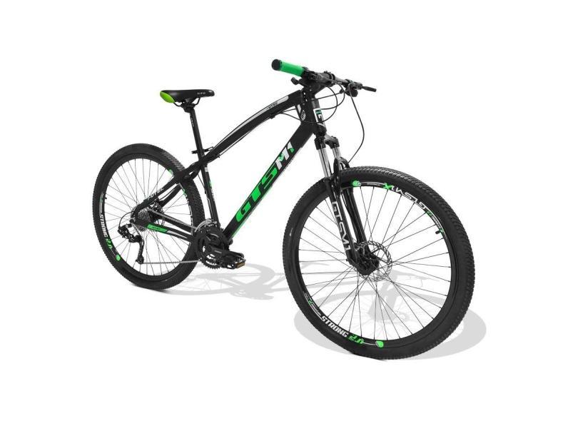 Bicicleta Mountain Bike GTSM1 27 Marchas Aro 29 Suspensão Dianteira a Disco I-Vtec GTS MX9
