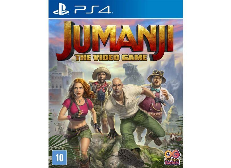 Jogo Jumanji: O Video Game PS4 O-Games