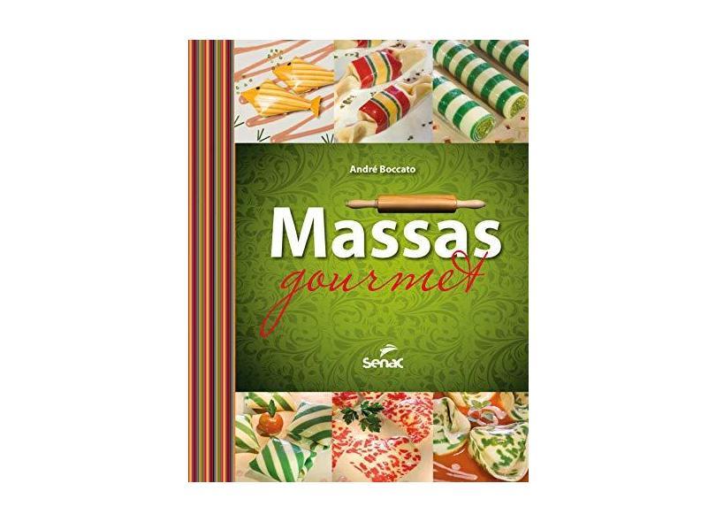 Massas Gourmet - Capa Dura - 9788539608706