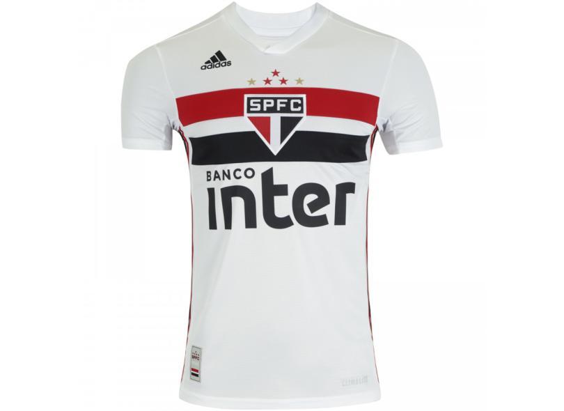 Camisa Torcedor São Paulo I 2019/20 Adidas