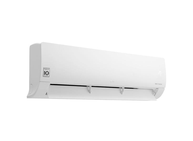 Ar Condicionado Split Hi Wall LG Dual Inverter 12000 BTUs Inverter Controle Remoto Frio Compact S4-Q12JA3AD