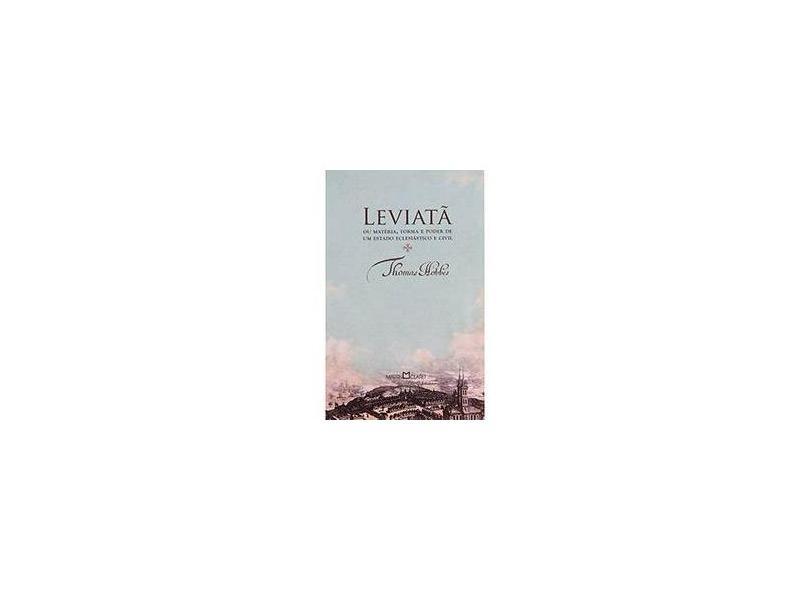 Leviata - Coleção Obra-Prima de cada autor - Thomas Hobbes - 9788572324618