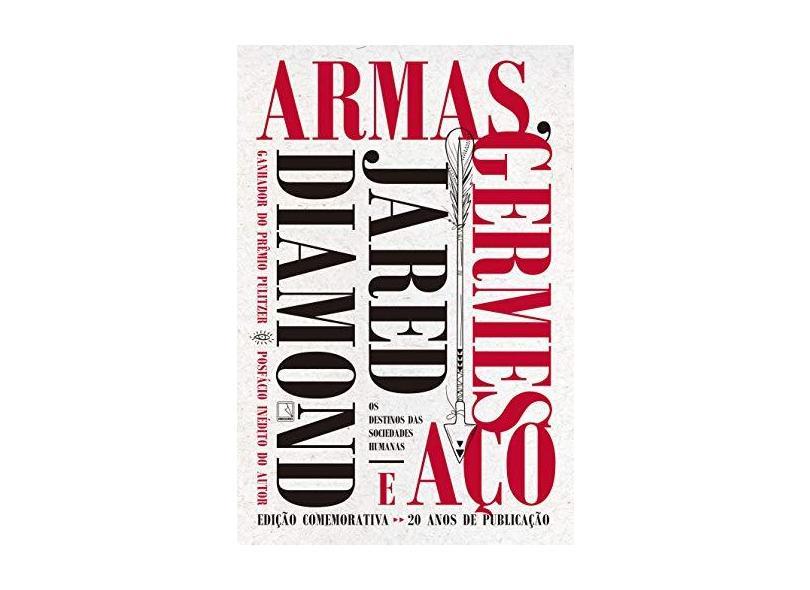 Armas, Germes e Aço - Jared Diamond - 9788501110015