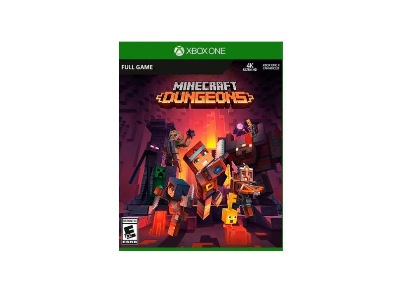 Jogo Minecraft Dungeons Xbox One Mojang